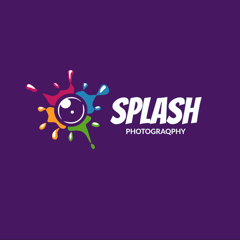 Free Splash Graphy Template Download