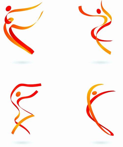 Free Sports People Logo Psd Freepsdfile