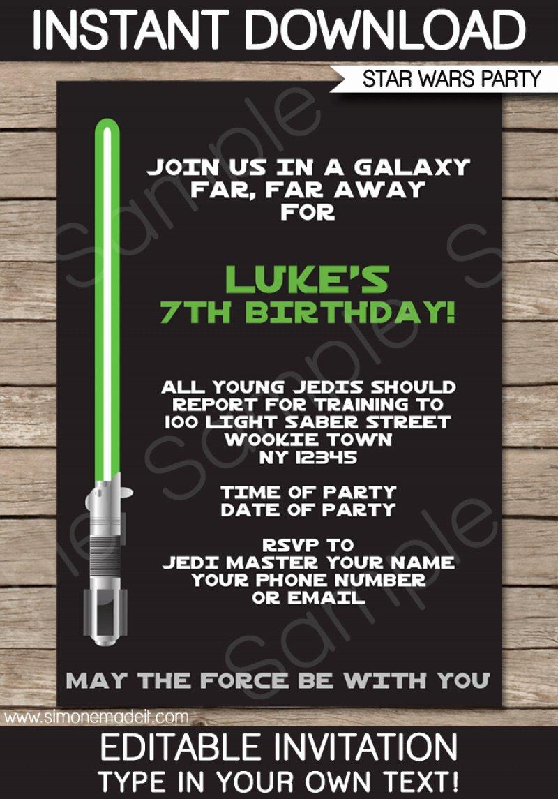 Free Star Wars Invitation Download – orderecigsjuicefo