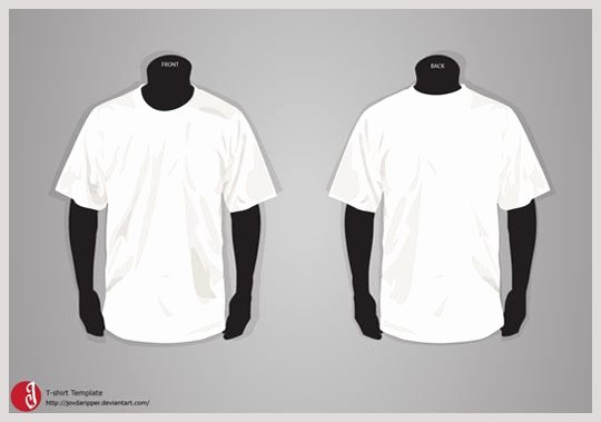 Free T Shirt Adobe Illustrator Template Adobe Illustrator