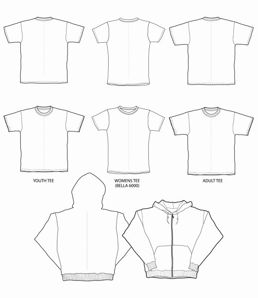 Free T Shirt Template Illustrator Templates Data
