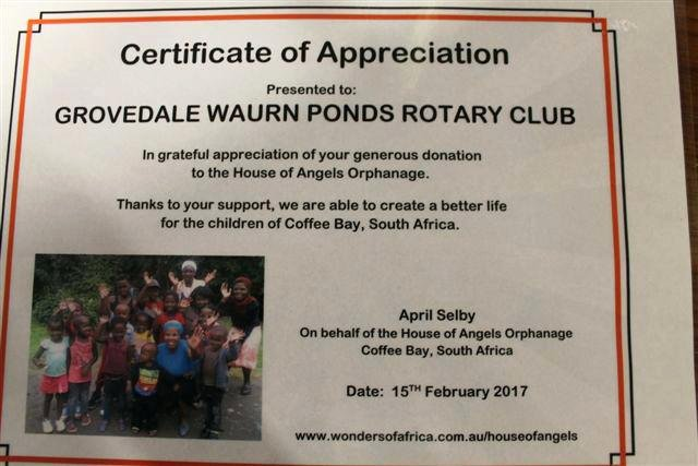 Free Template Certificate Appreciation Filename Rotary