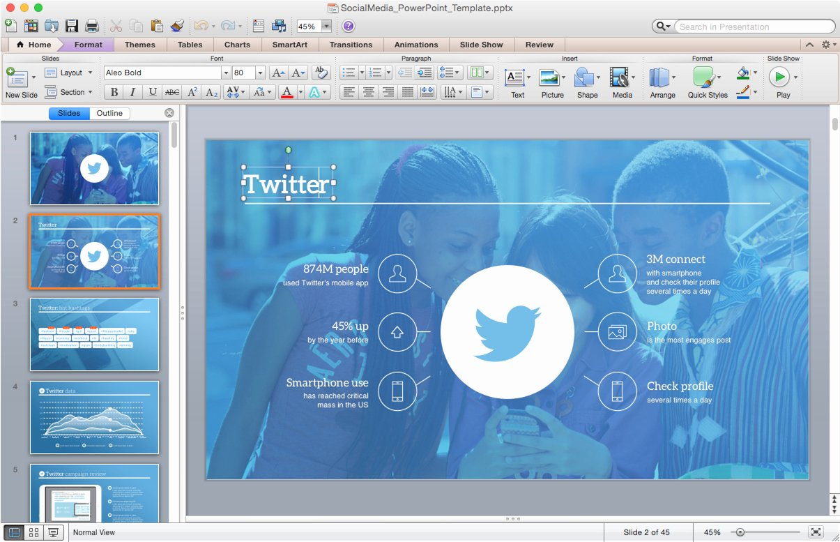 Free Template for Mac Powerpoint