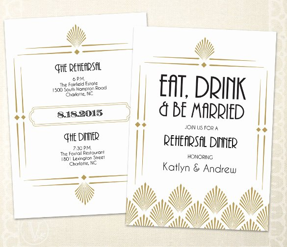 Free Thanksgiving Dinner Invitations Templates – Happy