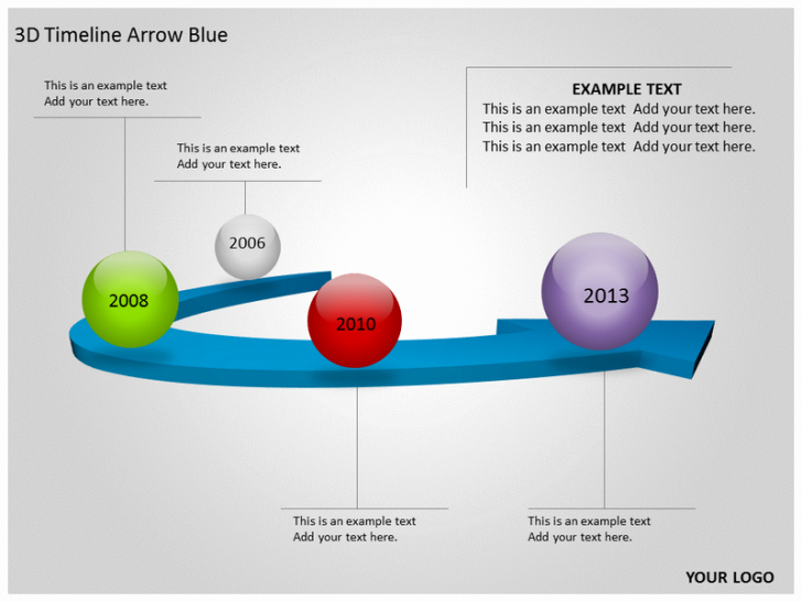 Free Timeline Template for Powerpoint 2010 Yasncfo