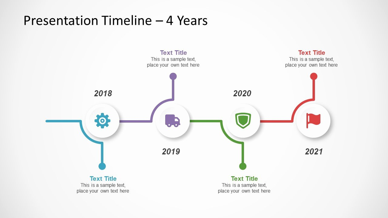 Free Timeline Template for Powerpoint Slidemodel
