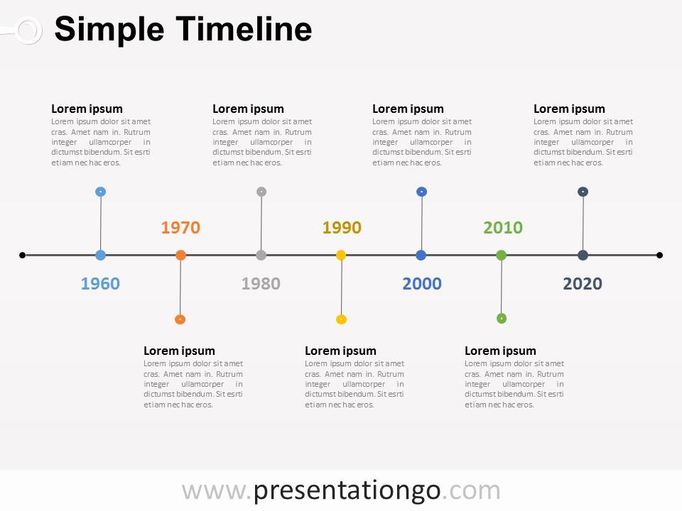 Free Timelines Powerpoint Templates Presentationgo