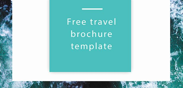 Free Travel Brochure Template Free Indesign Template