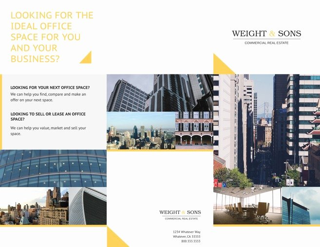 Free Tri Fold Brochure Templates & Examples [15 Free