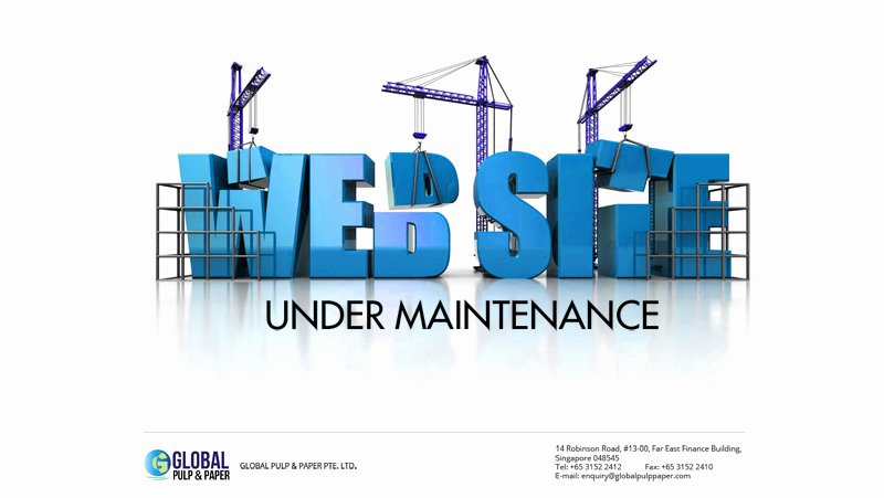 Free Under Construction Page Psd Template Vector area