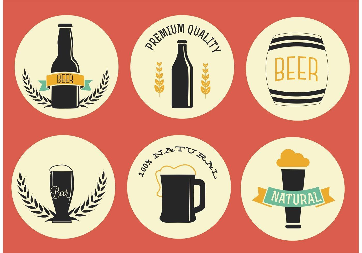 Free Vector Beer Labels Download Free Vector Art Stock