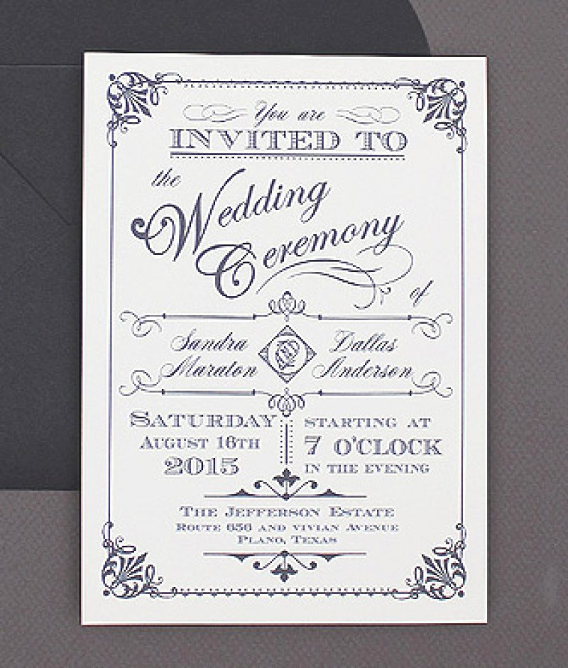 Free Vintage Wedding Invitation Template – orderecigsjuice