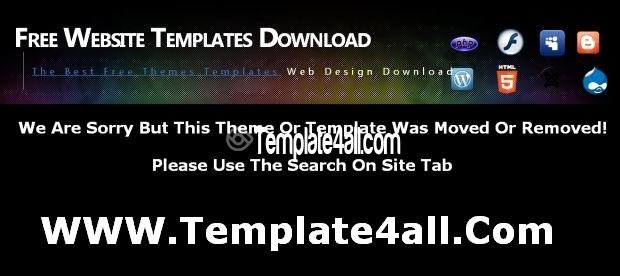 Free Vortex Black Dark Flash Template Download