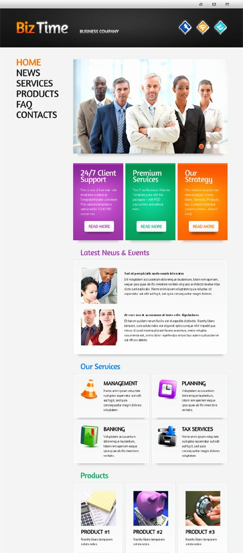 Free Web Templates E Page Layouts Website Templates Blog