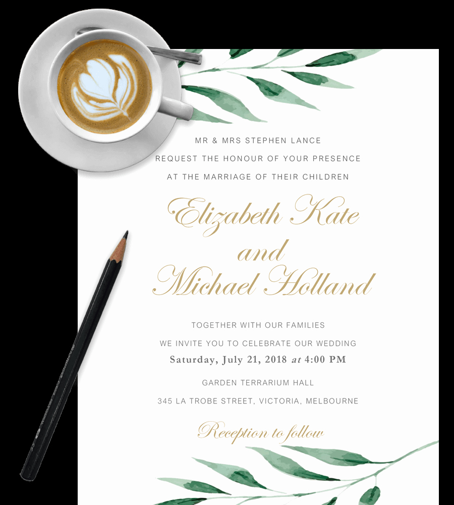 Free Wedding Invitation Templates In Word [download