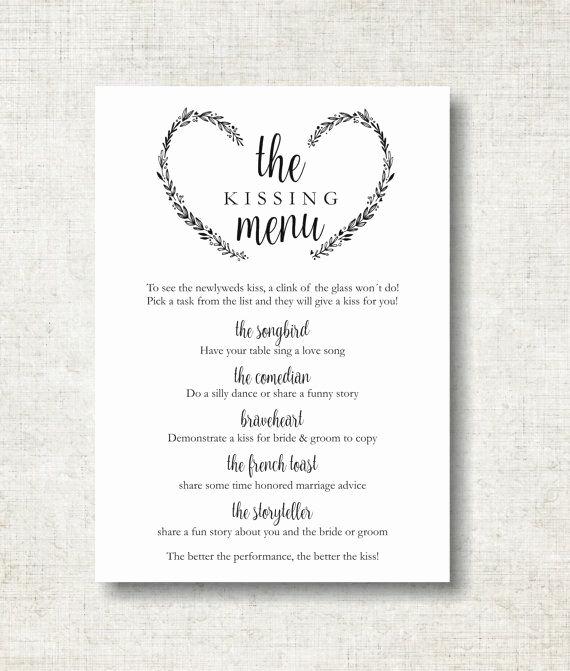 Free Wedding Menu Templates for Mac