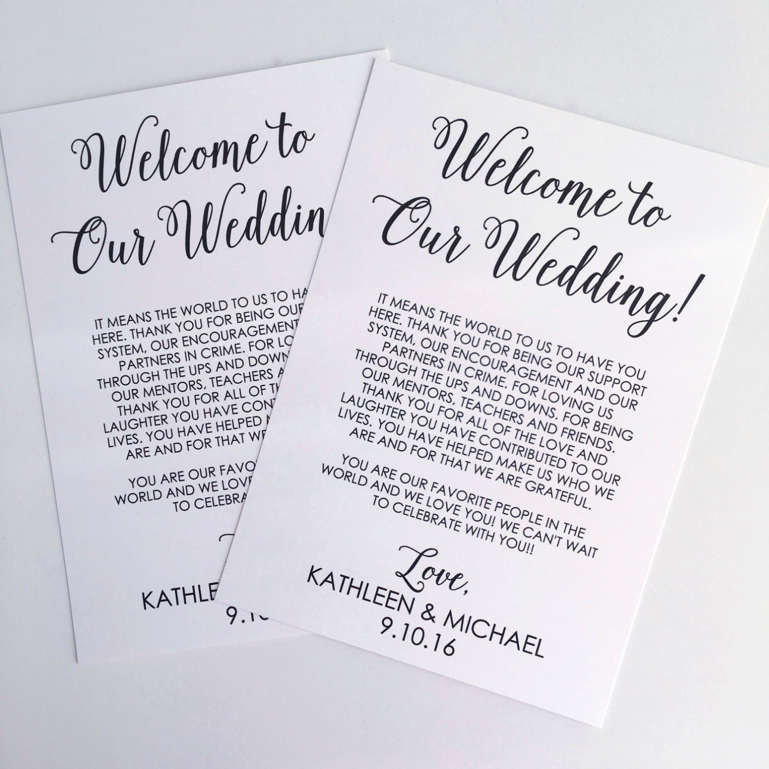 Free Wedding Wel E Letter Template Templates Station