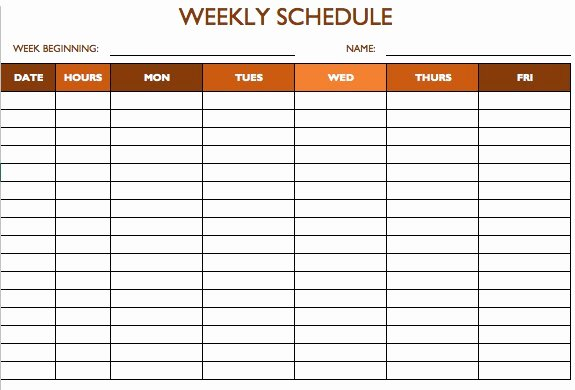 free work schedule templates word and excel