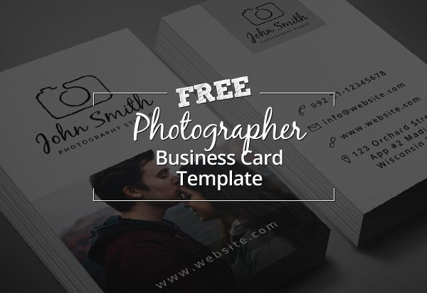 Freebie – Minimal Grapher Business Card Psd Template