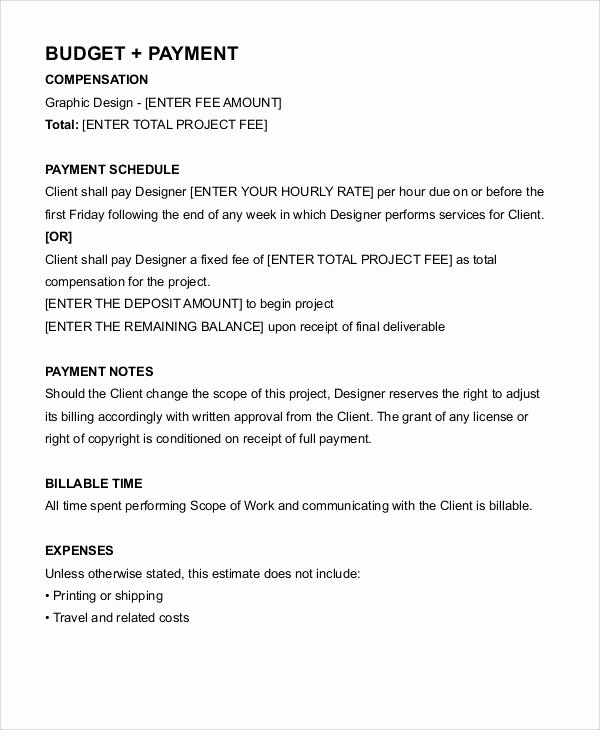 Freelance Contract Templates 7 Free Word Pdf format