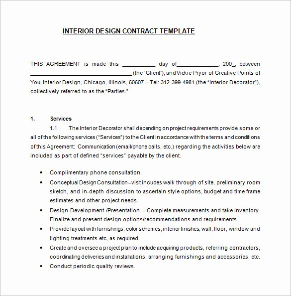 Freelance Graphic Design Contract Template Pdf