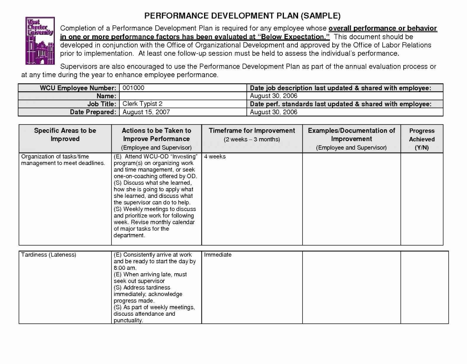 Fresh Sample Strategic Plan Nonprofit organization