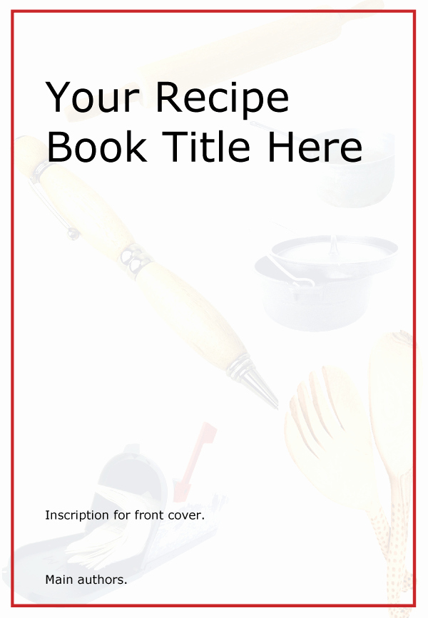 Front Cover Design Template