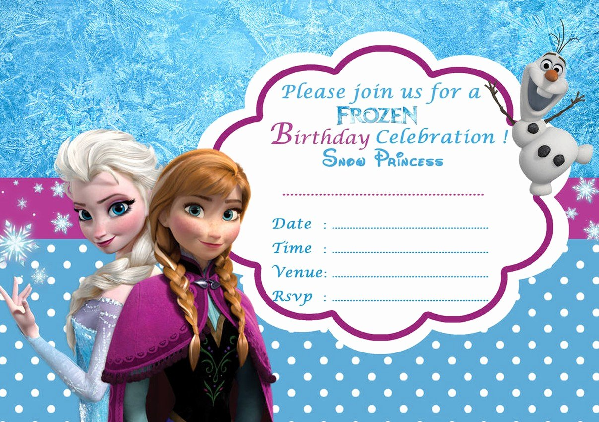 image about Frozen Free Printable identify Frozen No cost Printable Invitation Templates Latter Case in point