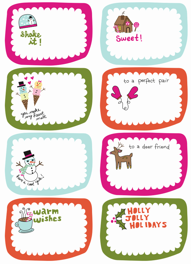 Frugal Life Project Free Printable Gift Tags