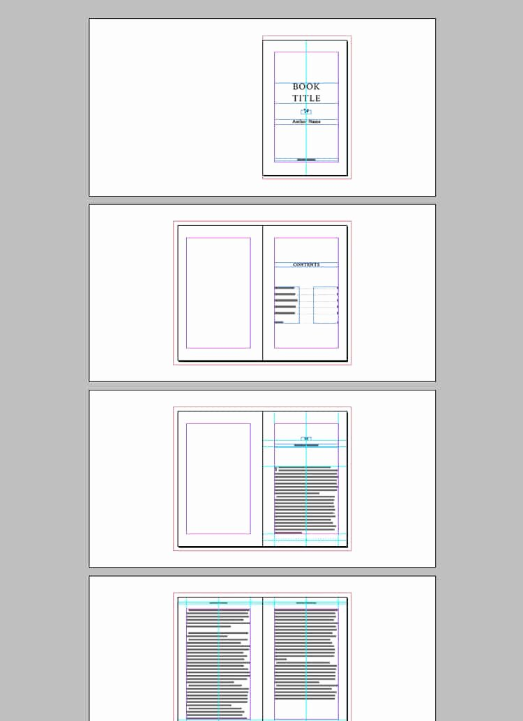 Full Book Template for Indesign