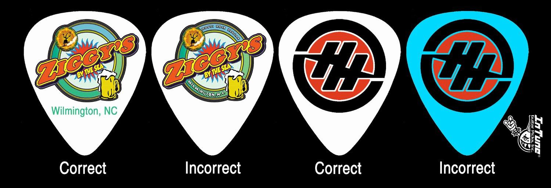 Full Color Custom Guitar Pick Specs