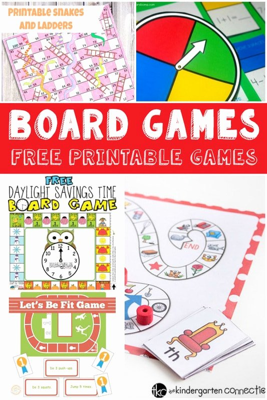 Fun and Free Printable Board Games Itsy Bitsy Fun