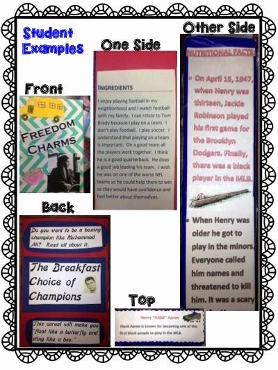 Fun Book Reports Paper Bag Book Report Cc