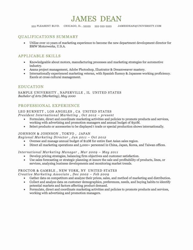 Functional Resume format Resume Stuff