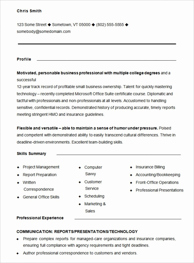 functional resume template 15 free samples examples format 2