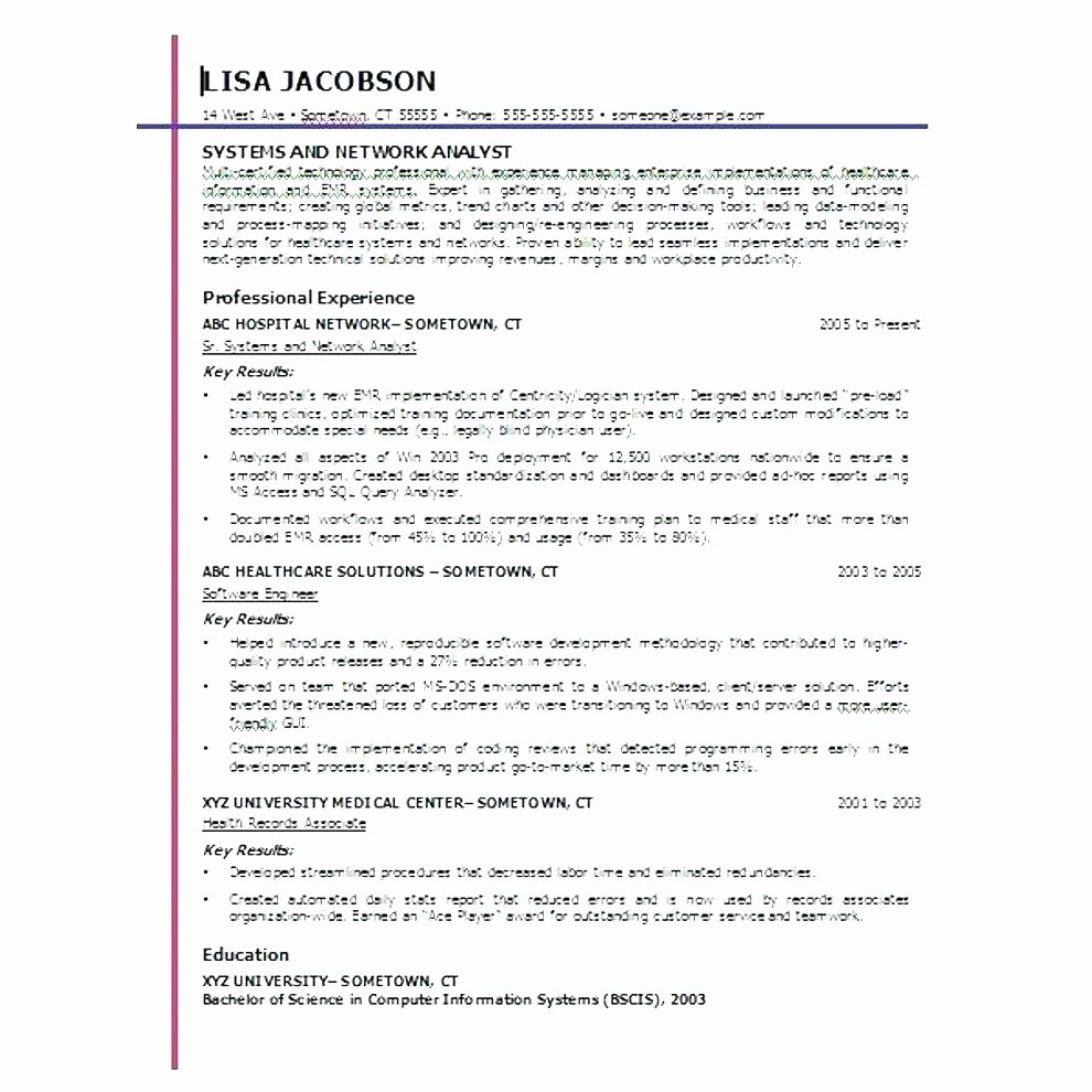 functional resume template word 2010