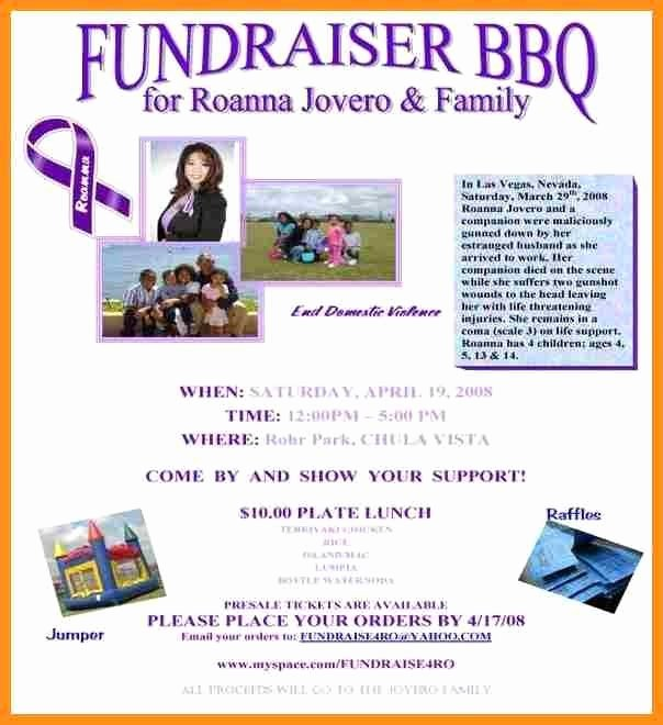 Fundraiser Flyer Template Free Yourweek 4f9f12eca25e
