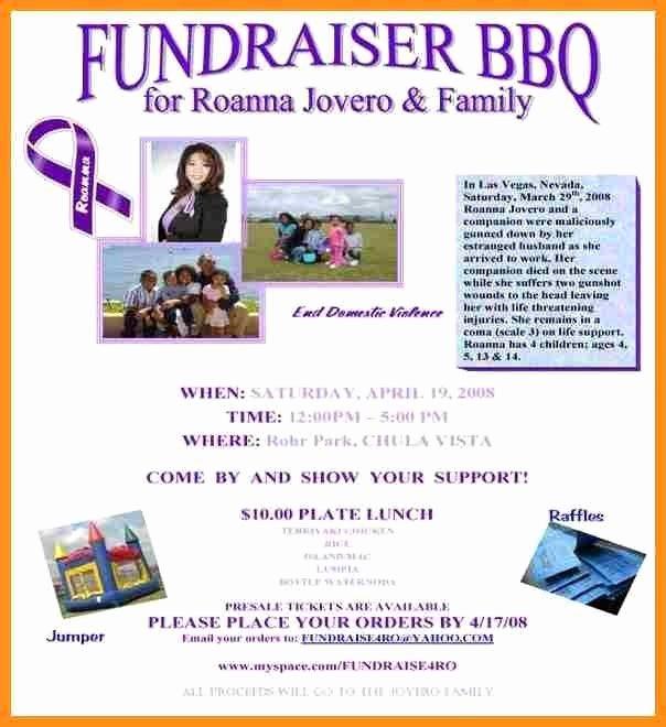 Fundraiser Flyer Template Free Yourweek 4f9f12eca25e