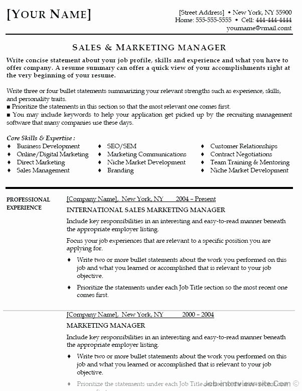 Funky Construction Manager Resume Adornment Example