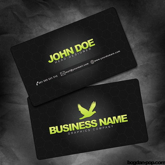 Funny Gallery Cool Business Card Templates Cool