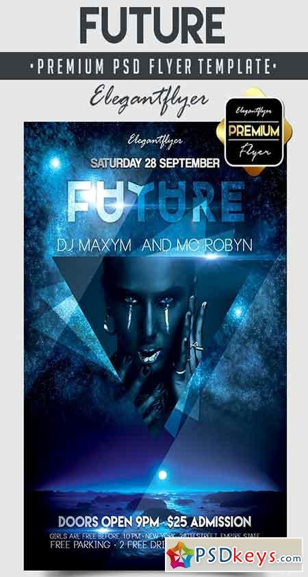 Future – Flyer Psd Template Cover Free