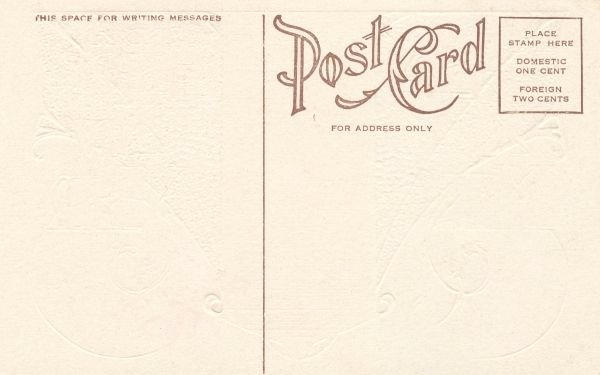 Gallery for Blank Postcard Back Design