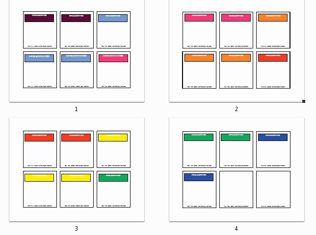 Gallery Monopoly Game Cards Template