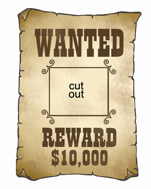 Gallery Wanted Posters for Kids Templates