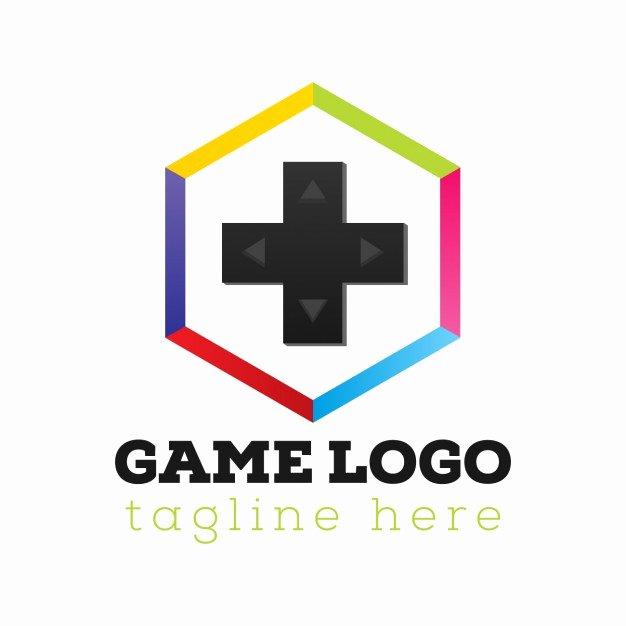 Game Console Logo Template Vector
