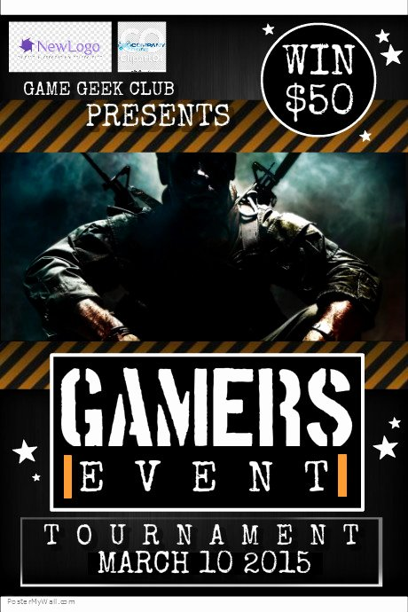 Game Flyer Template