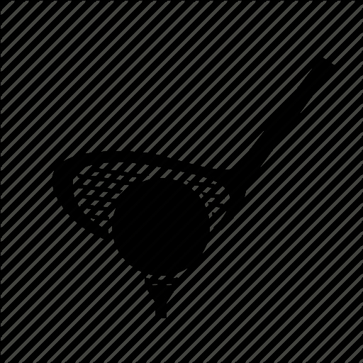 Game Goal Golf Tee Icon