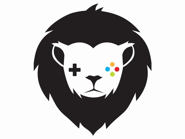 Gaming Lion Logo Template by Brandi Lea