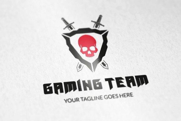 Gaming Team Logo V2 Logo Templates On Creative Market
