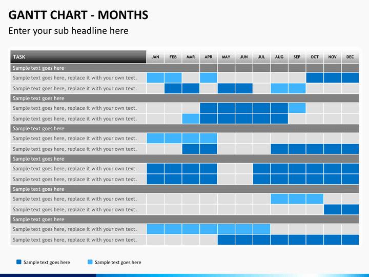 powerpoint gantt charts